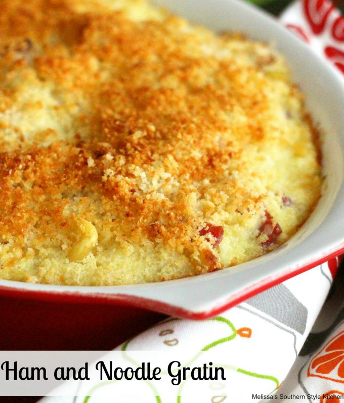Ham And Noodle Gratin