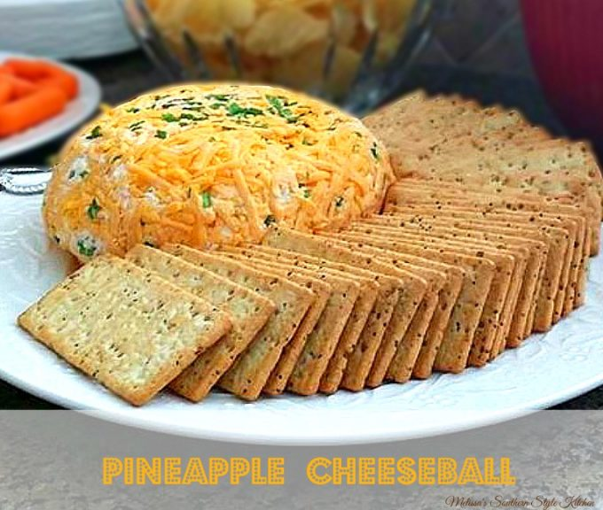 Pineapple Cheeseball