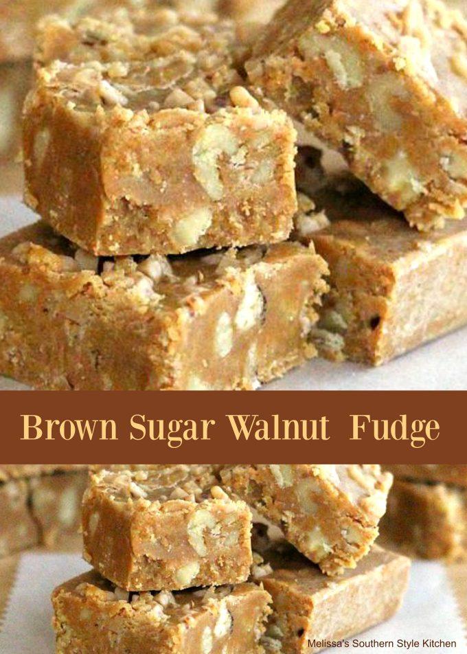 Brown Sugar-Walnut Fudge