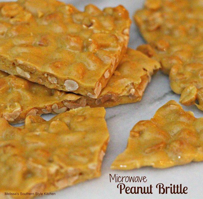 Microwave Peanut Brittle Melissassouthernstylekitchen Com