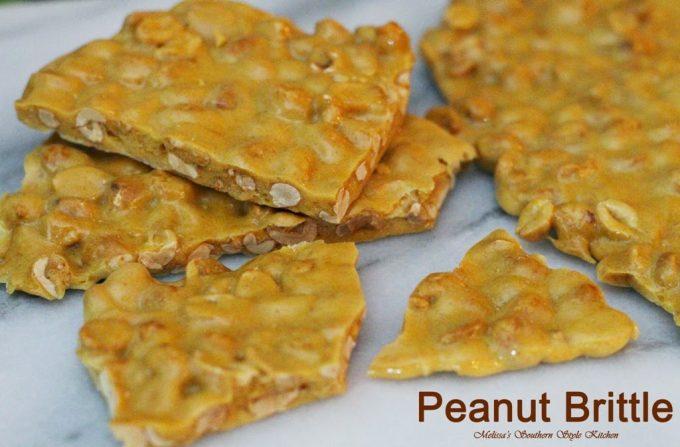 Microwave Peanut Brittle - melissassouthernstylekitchen.com