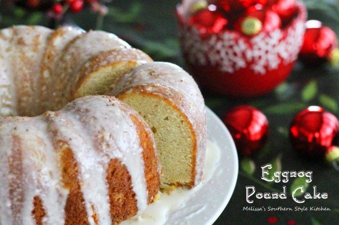 Eggnog Pound Cake Melissassouthernstylekitchen Com