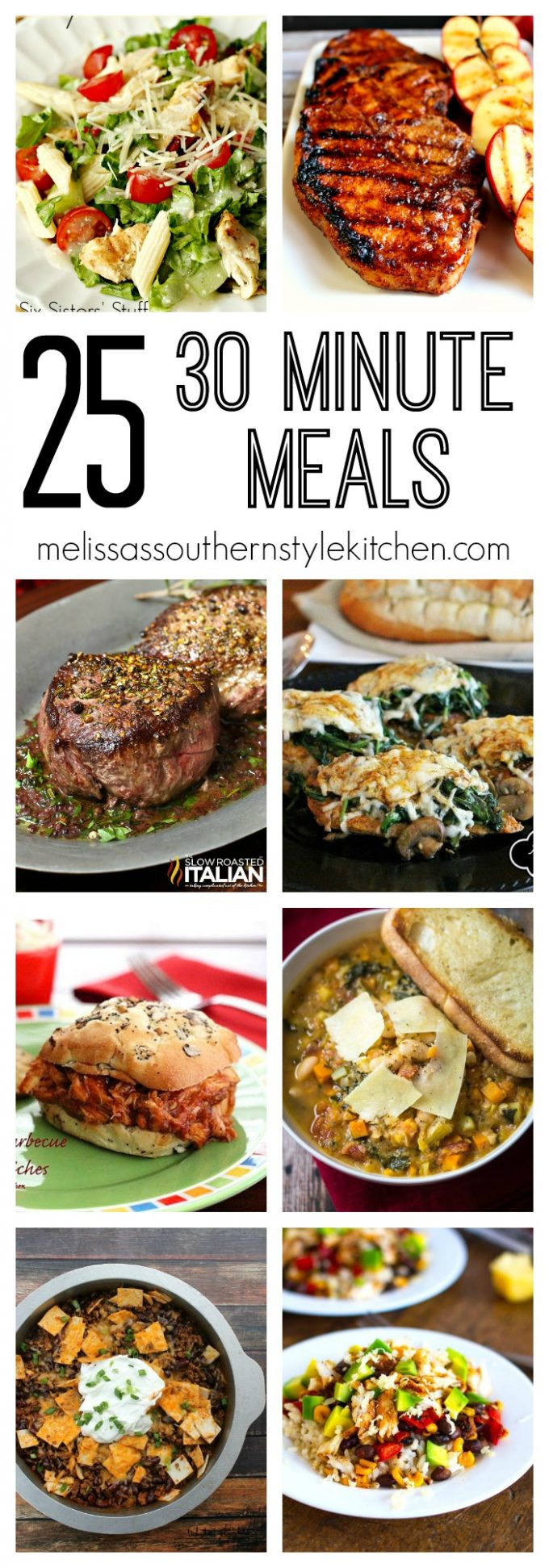 25 Thirty Minute Meals