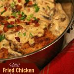 Fried Chicken with Bacon Gravy