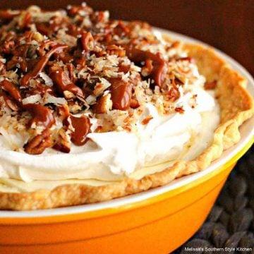 easy Salted Caramel Coconut Cream Pie recipe