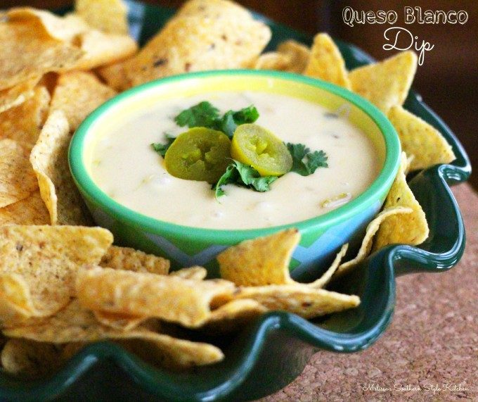 Slow Cooker Queso Blanco Dip