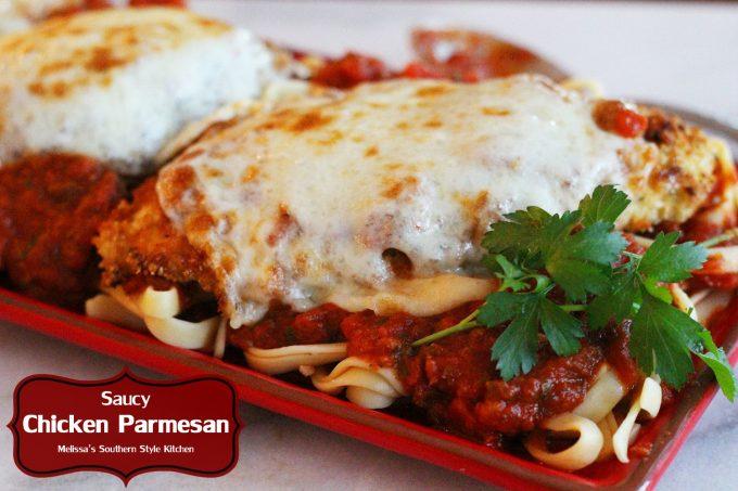 Saucy Chicken Parmesan