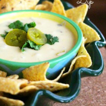 Slow Cooker Queso Blanco Dip Recipe