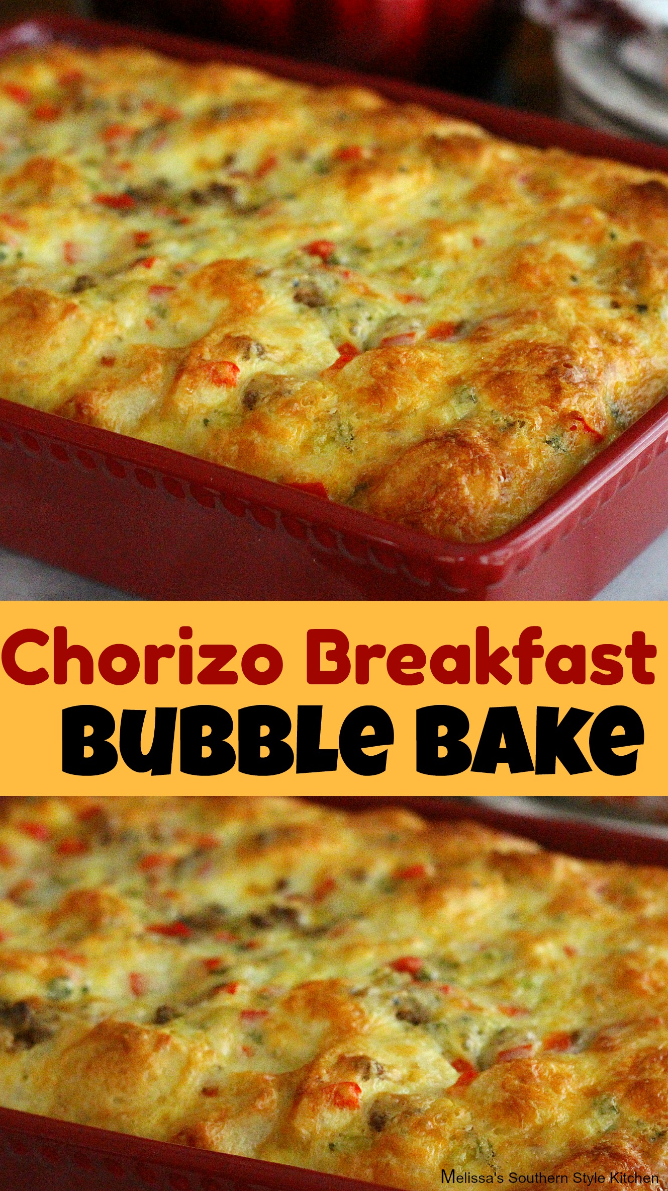 Chorizo Breakfast Bubble Bake