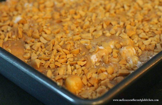 prepared Peanut Butter Mallow Bars