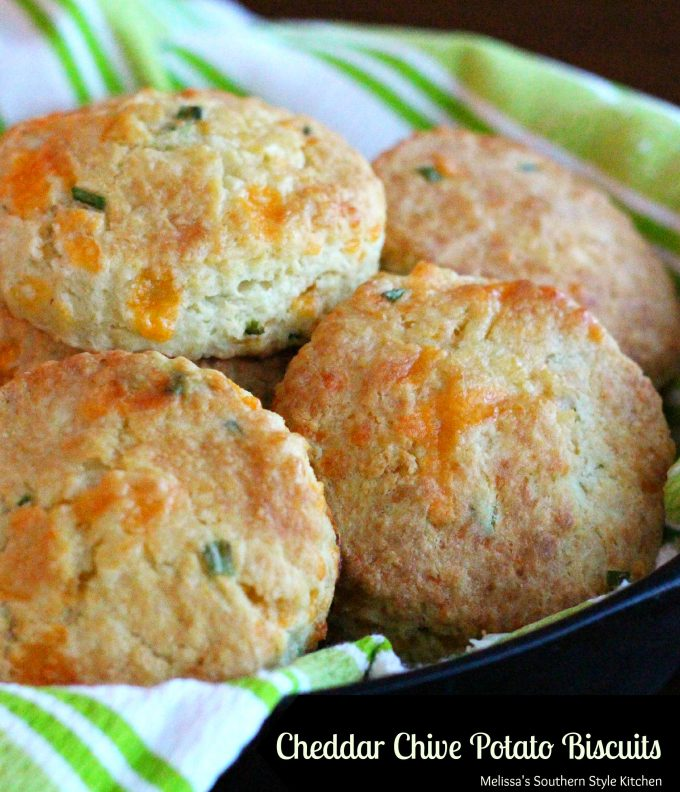 Cheddar Chive Potato Biscuits ...