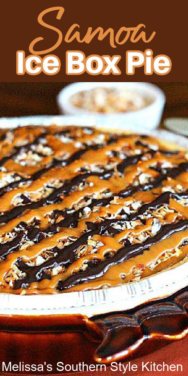 Samoa Ice Box Pie dessert