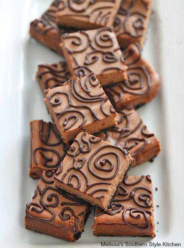 Triple Chocolate Cheesecake Bars