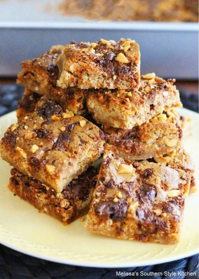 baked-snickers-bar-blondies
