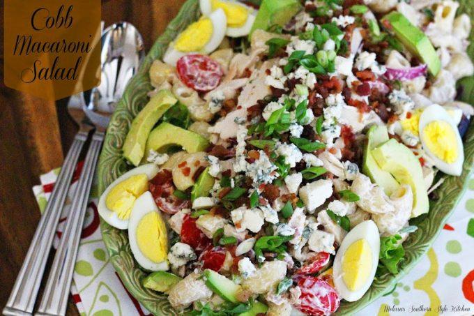 Cobb Macaroni Salad - melissassouthernstylekitchen.com