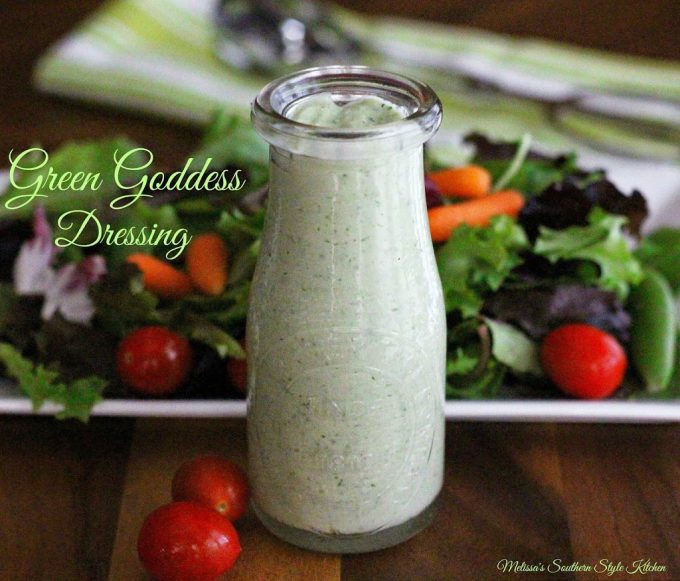 Green Goddess Dressing - melissassouthernstylekitchen.com