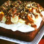 Bananas Foster Snack Cake