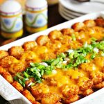 Barbecue Beef Tater Tot Casserole Recipe