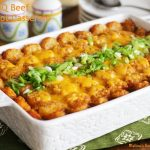 Barbecue Beef Tater Tots
