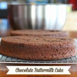 Chocolate Buttermilk Cake Recipe