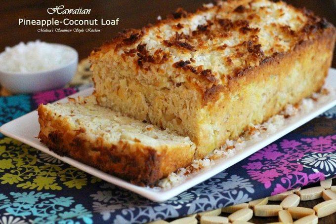 Hawaiian Pineapple Coconut Loaf