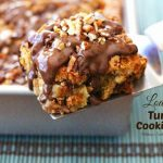 Loaded Turtle Cookie Bars