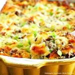 Asiago Cheese Italian Sausage Strata
