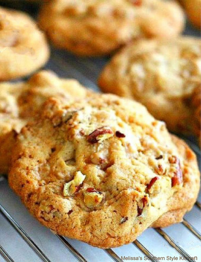 Southern Butter Pecan Cookies