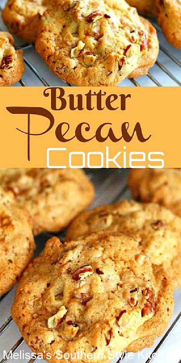 baked Butter Pecan Cookies