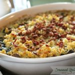 Creamed Spinach Gratin With Bacon And Mushrooms