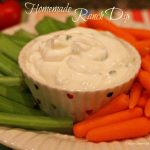 The Best Homemade Ranch Dip