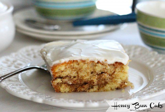 Adding Honey To Cake Mix
