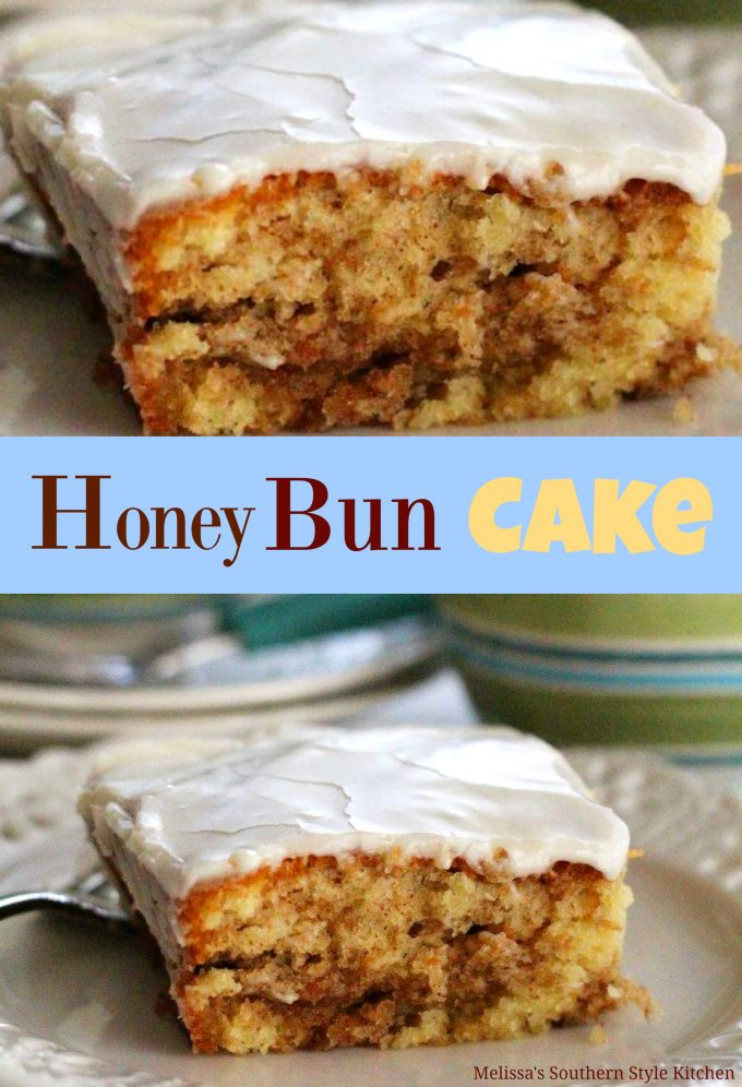 Honey Bun Cake