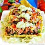 Chili Lime Flank Steak Tacos recipe