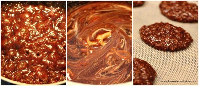 No Bake Chocolate Peanut Butter Oatmeal Cookies ...