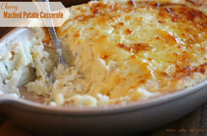 Cheesy Mashed Potato Casserole ...