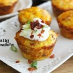 Loaded Bacon And Egg Hash Brown Muffins Recipe