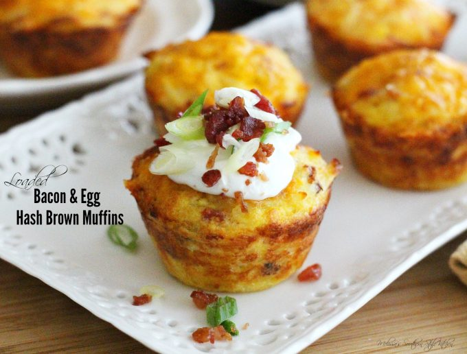 Loaded Bacon And Egg Hash Brown Muffins - melissassouthernstylekitchen ...