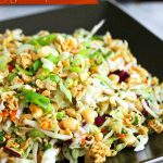 Asian Ramen Noodle Coleslaw Recipe