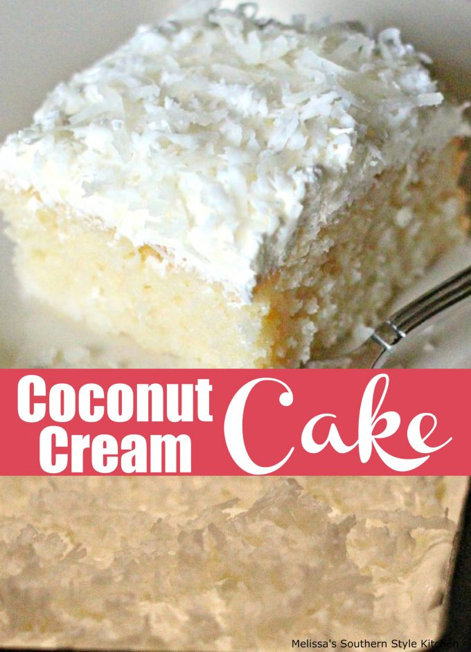 Coconut Cream Cake Melissassouthernstylekitchen Com