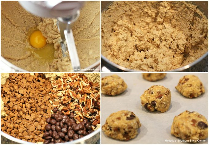 Chocolate Covered Raisin Pecan Oatmeal Cookies ...