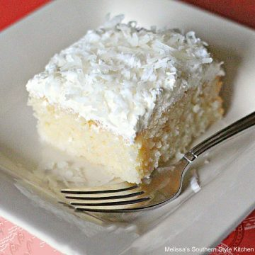 Coconut Cream Cake recipe for Easter