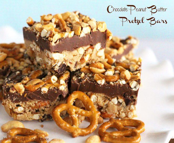 Pretzel Peanut Butter Chocolate Chip Cookies