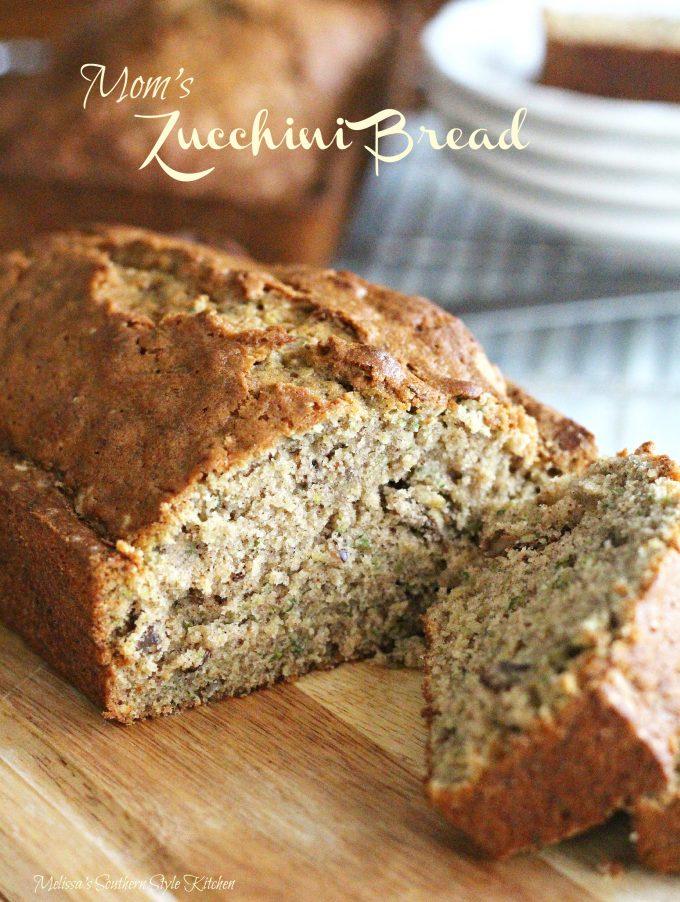 Mom's Zucchini Bread - melissassouthernstylekitchen.com