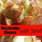 Mozzarella Cheese Garlic Bread