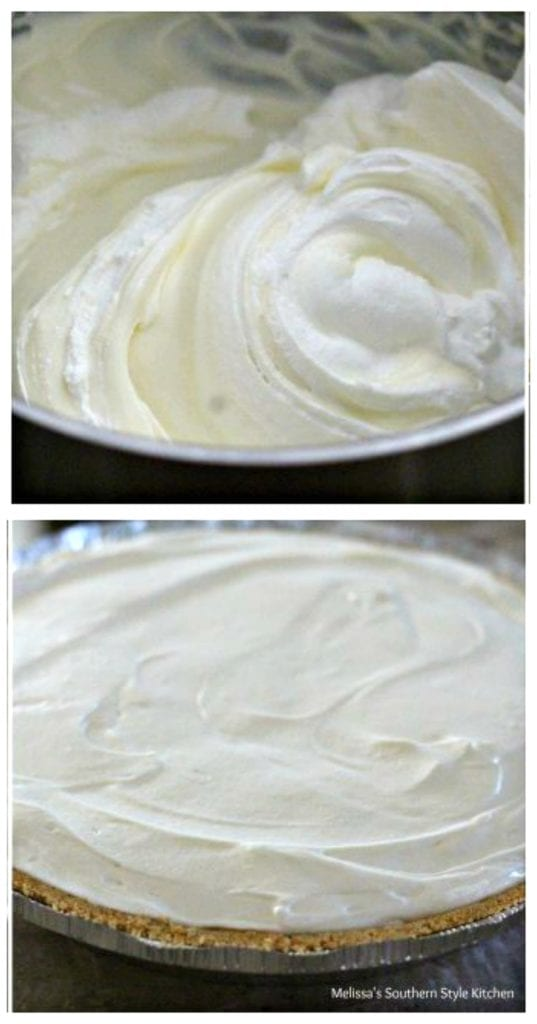 step-by-step pictures for making cheesecake filling