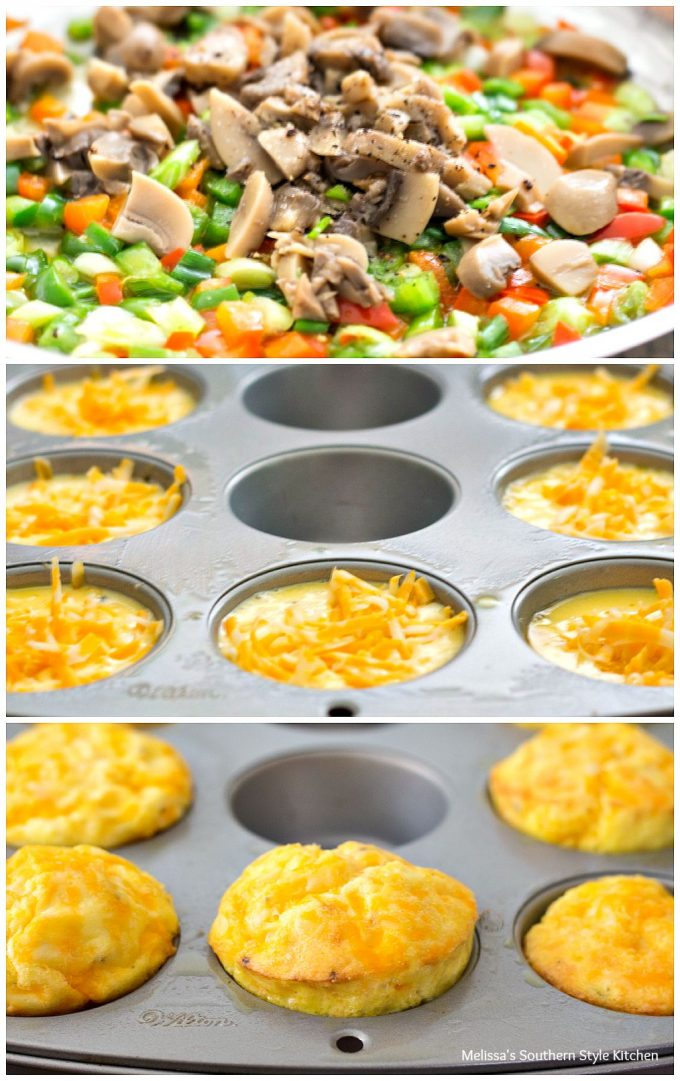 Crustless Mini Vegetable Quiche Melissassouthernstylekitchen Com