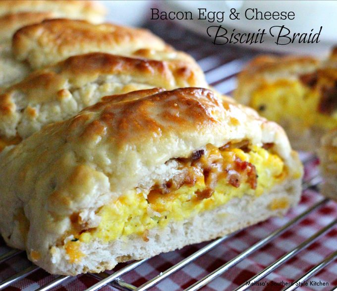 Bacon Egg And Cheese Biscuit Braid ...