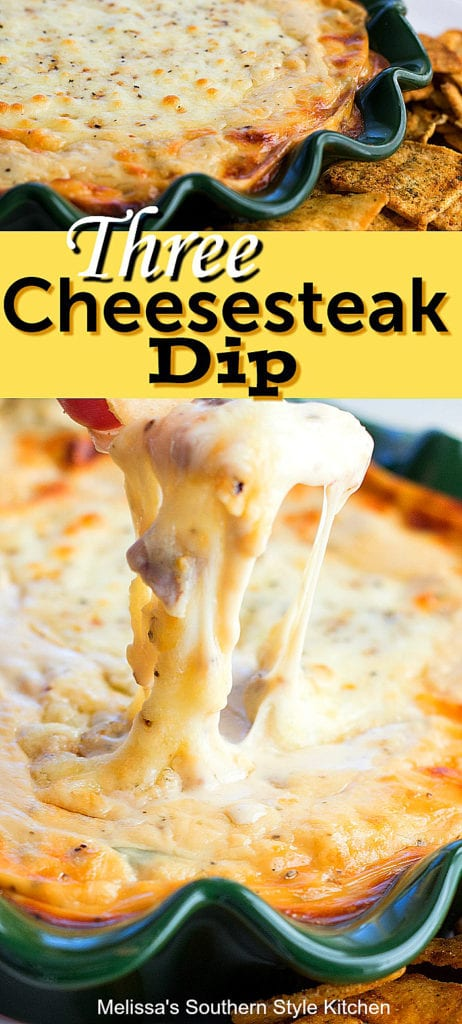 Three Cheesesteak Dip