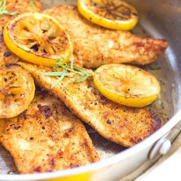 Lemon Butter Chicken With Tarragon